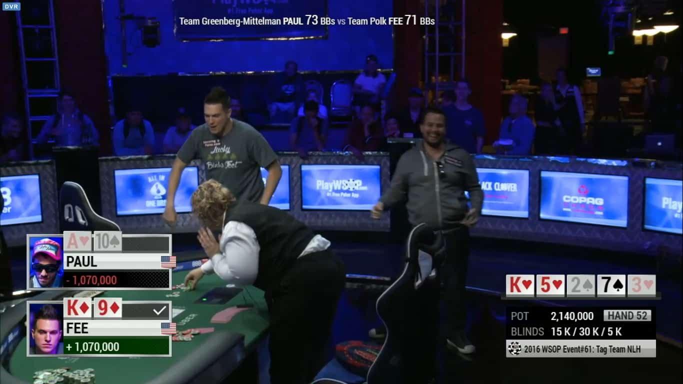 Doug Polk and Ryan Fee WSOP Tag Team 1
