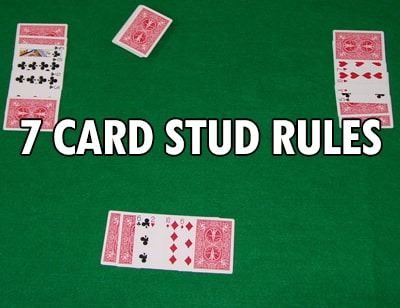 7 seven card stud rules