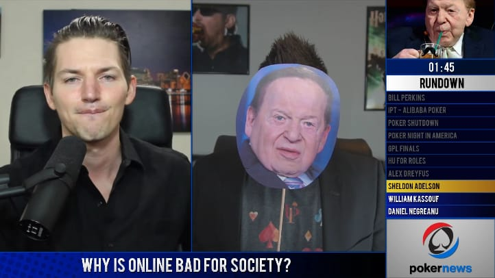 Sheldon Adelson guest appearance on Table Talk