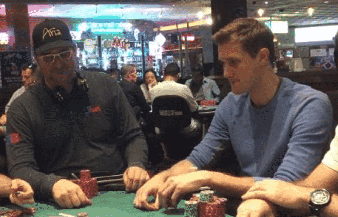 brad owen poker vlogger vs phil hellmuth