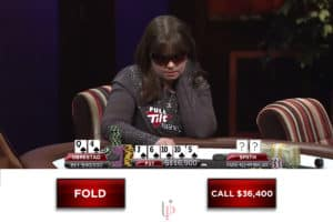 Poker Pop Quiz: Can She Fold a Flush After This Brutally Bad Turn Card?