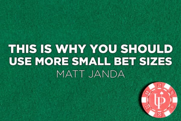 small bet size strategy