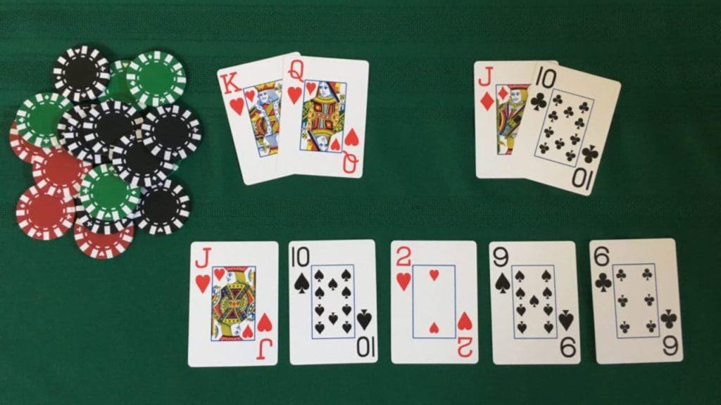 Poker Texas Holdem Kartenreihenfolge