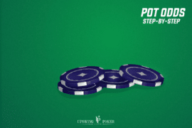 pot odds in poker step-by-step