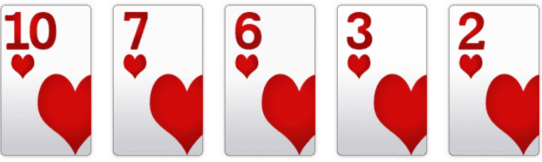 Poker Hand Rankings: Flush